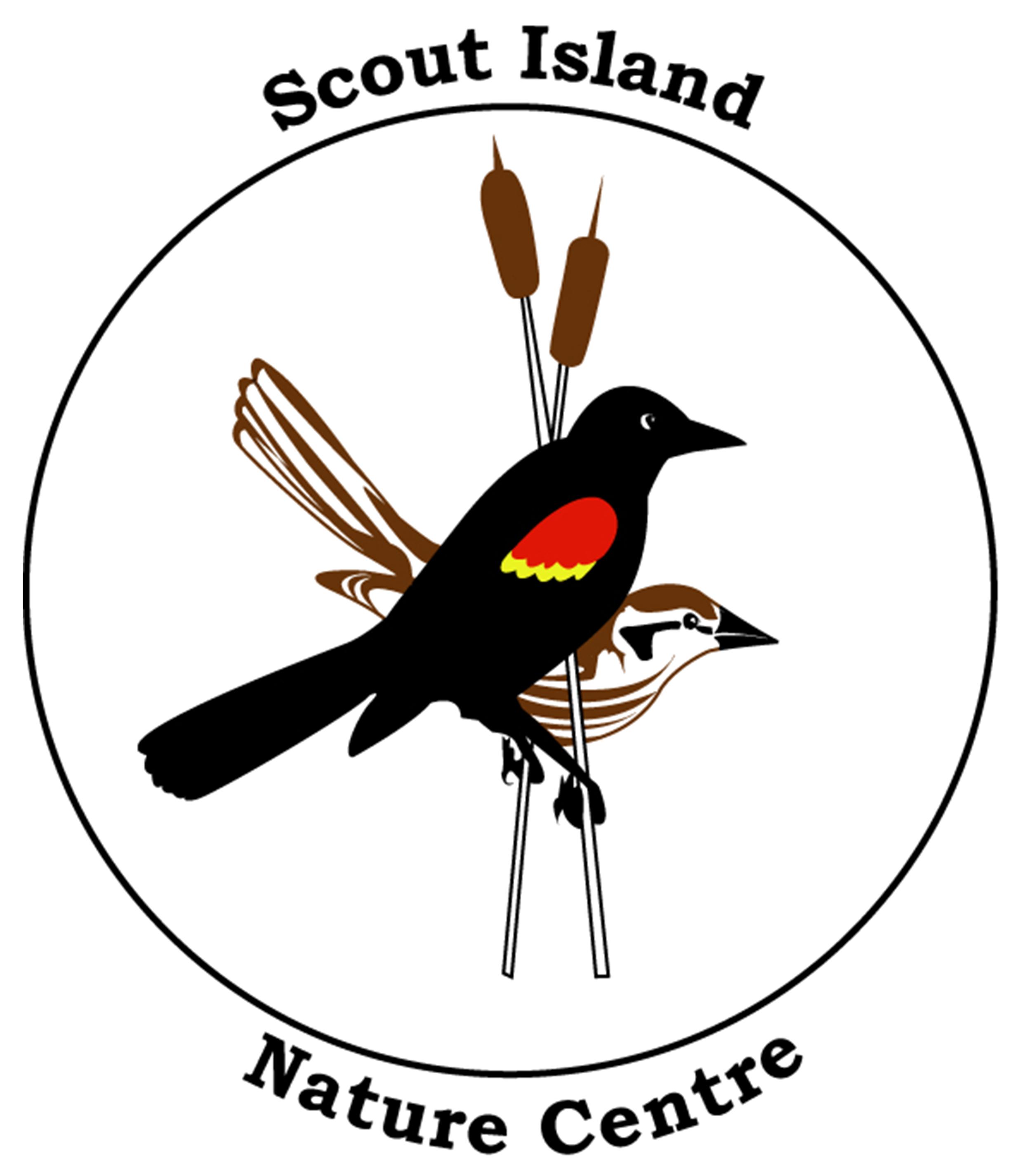 Scout island nature centre logo transparent